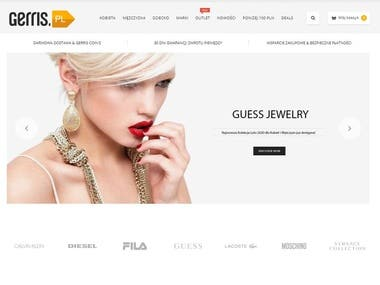WooCommerce Jewellery website