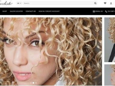Wordpress Salon Website