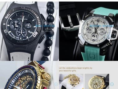 watches website