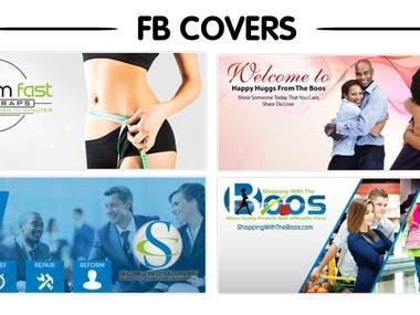 FB Cover designs portfolio