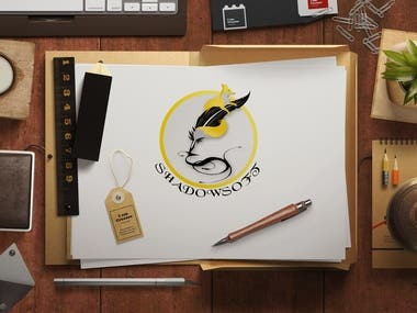 Logo Design for an author pen name.