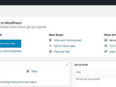 WordPress Data Entry/Uploading/Listing