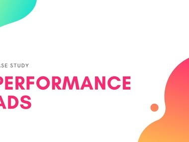 Facebook Performance Ads