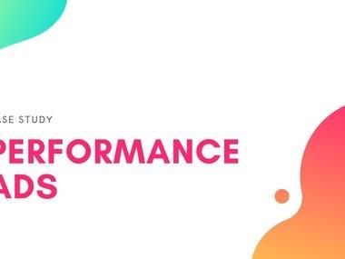 Performance Ads - Print-On-Demand service/E-commerce - Budge