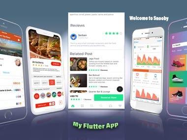 Reservation Flutter App