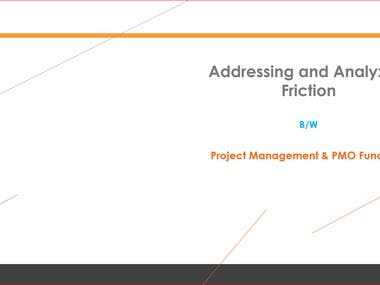 PMO vs Project Management Friction Analysis