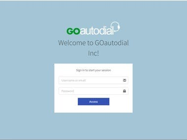 GoautoDial implementation for inbound & outbound call setup