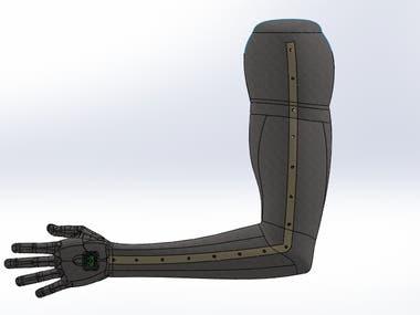 Sensor array suit.