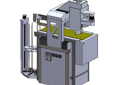 Industrial automated stamping machine