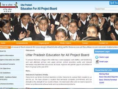 Education Department web portal