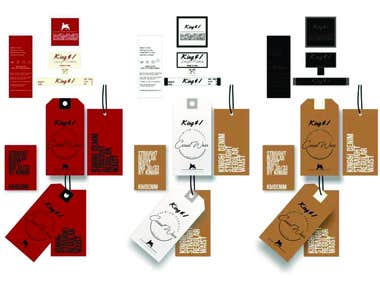 Apparel Tags, Labels & Flyers