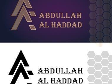Abdalla Alhaddad Luxurious logo