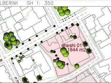 2D AutoCAD City Map