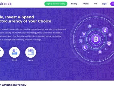 Cointronix Cryptocurrency Exchange