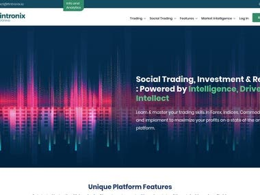 Social Trading Investment Research Platform for Forex Indice