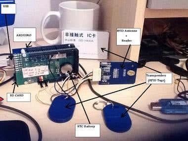 RFID system (Based ARDUINO)