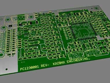 FPGA based controller (Cyclone III)