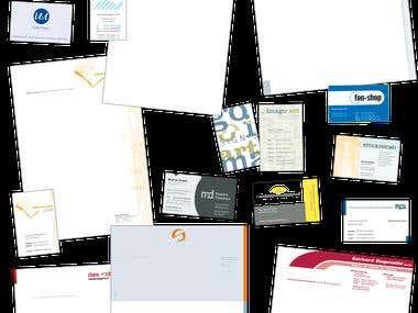 Corporate Design/Geschäftsausstattung