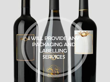 Product Labeling and Packaging Designing