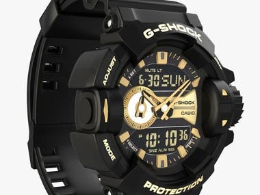 Photo Realistic Watch 3D Designs