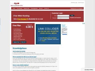 Free Web Hosting | Redlinehosting.tk