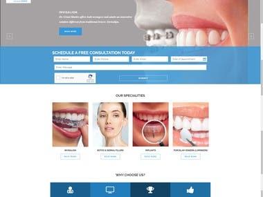http://dentistmiamiflorida.com/ : React, Angular
