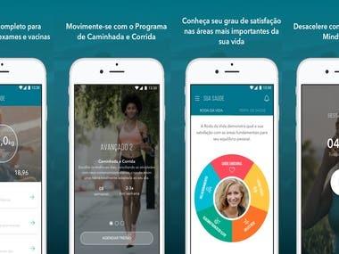 Fitness App using IONIC