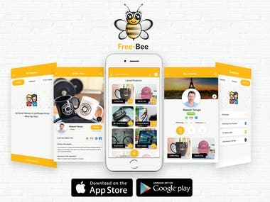 Free-Bee using Native Android and IOS