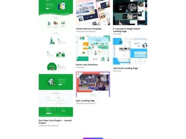 Full Company Website Developement
