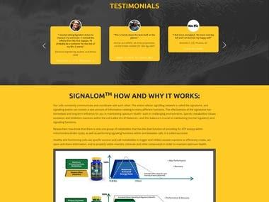 PSD to Woocommerce Website Development