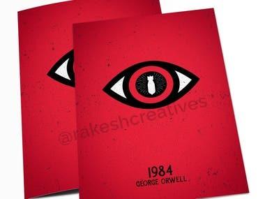 Book cover design - Minimal