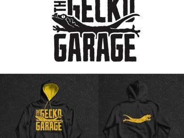 Gecko Garage Logo Design