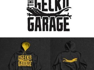Gecko Garage Logo Design