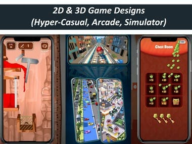 Hyper Casual Games for iOS & Android