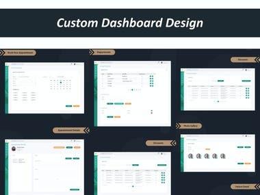 Dashboard Design (UI/UX)