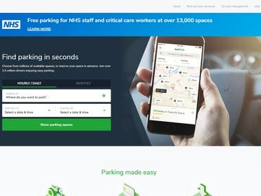 Booking Parking System