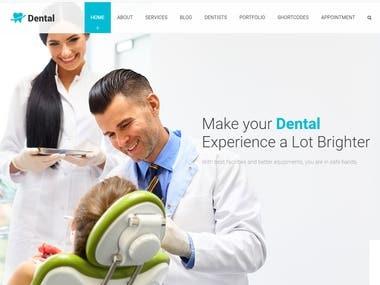 Dental Web site