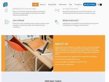 Digital Screen Cast Website