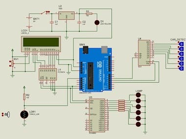 Arduino Based Street Light Controller