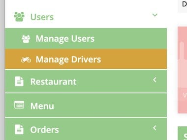 Food Devlivery App With Backend Api and CMS