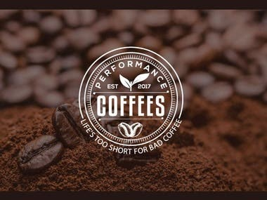 Coffee Brand logo design