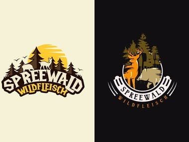 spreedwald-wild-logo-design