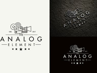 Analog-element-logo-design