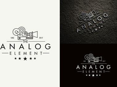 Analog-element-logo-design