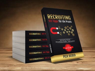 Recruiting Book Cover Design
