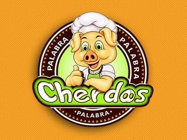 cherdos-logo-illustration design