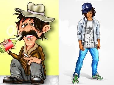 caricature-cartoon-illustration