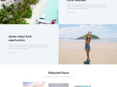 WordPress/Divi theme on my Domain