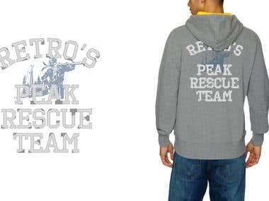 Hoodie design for Retro Jeans