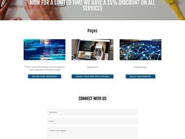 Corporate Website (IT)